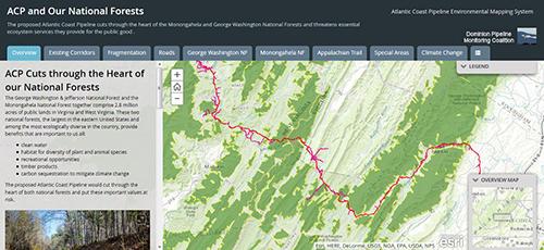 Potential 500-feet Utility Corridor