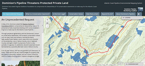 Threatened Conservation Easements